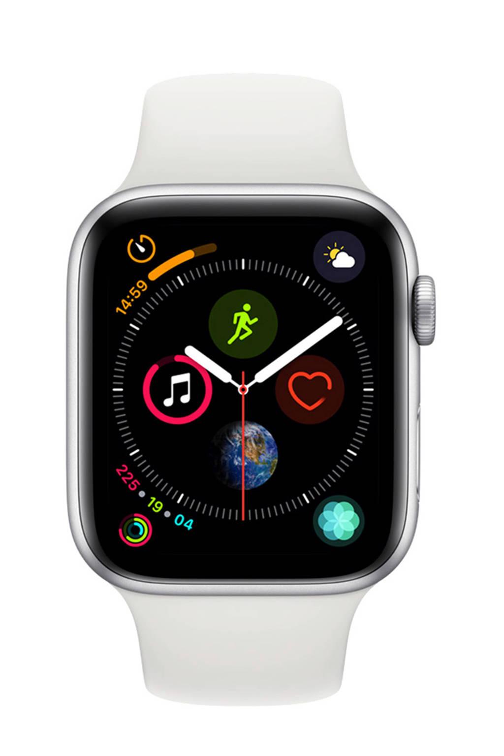 Apple Watch Series4 GPS44mm sportband, Zilver