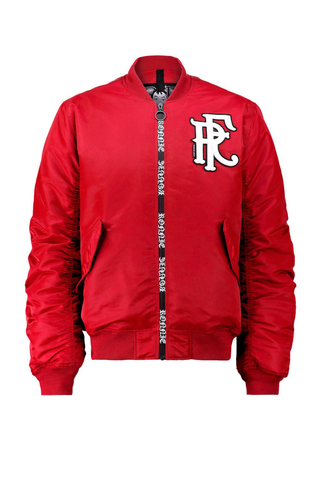 CoolCat Ronnie Flex bomberjack rood, Rood