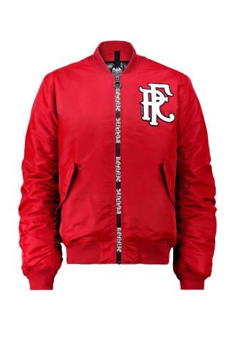 Ronnie Flex bomberjack rood