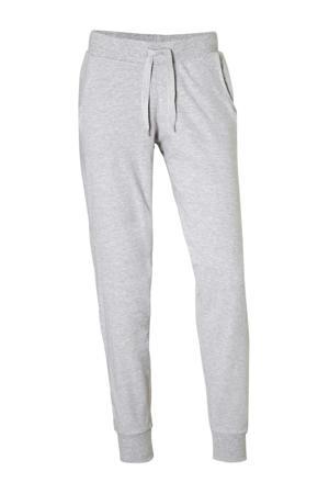 pyjamabroek met zakken grijs mêlee
