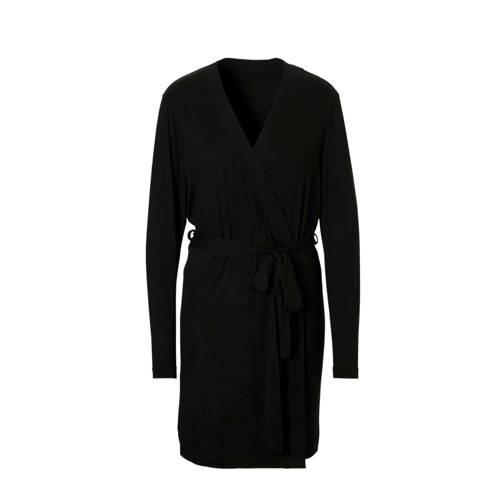 Sassa Mode badjas met viscose zwart
