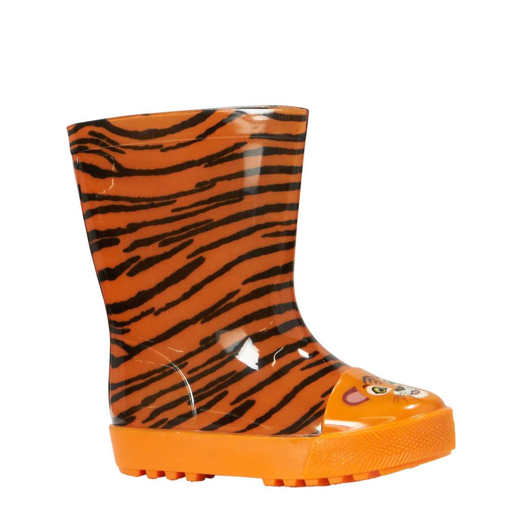 Apollo kids tijger regenlaarzen oranje, Oranje