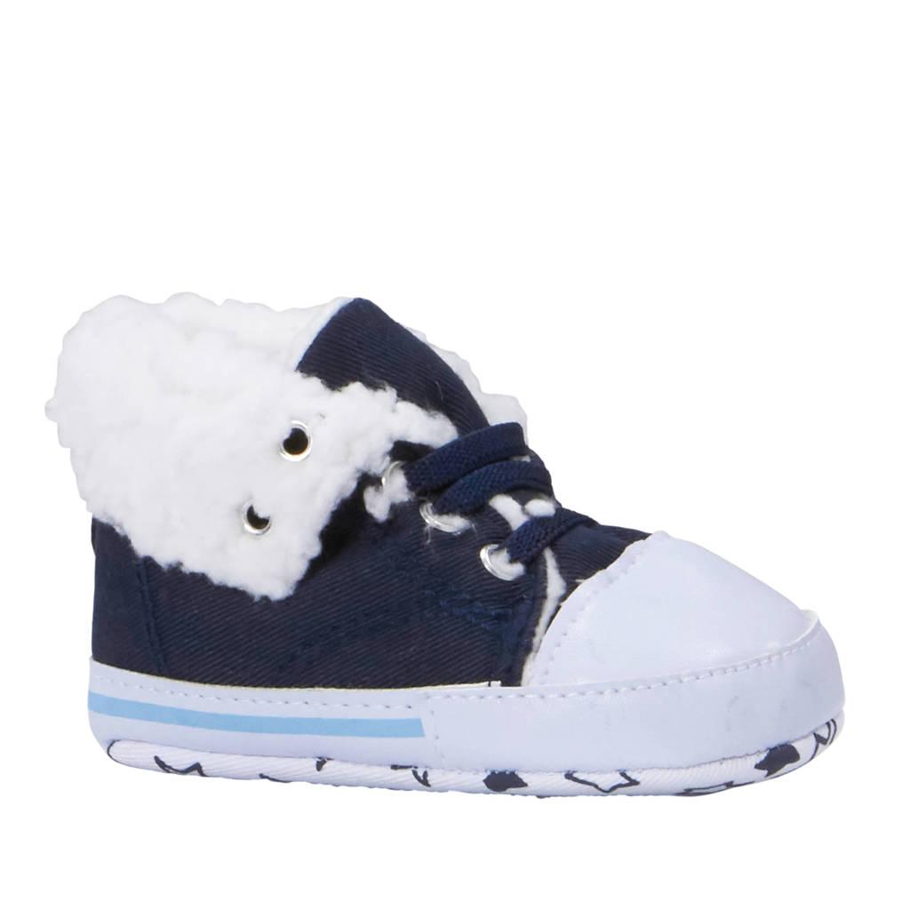 XQ baby schoenen blauw, Donkerblauw