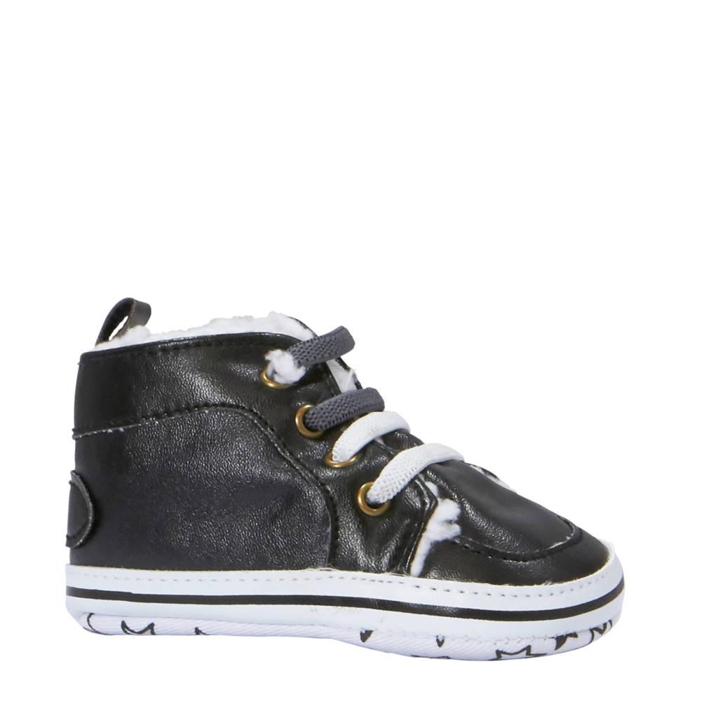 XQ baby schoenen zwart, Zwart