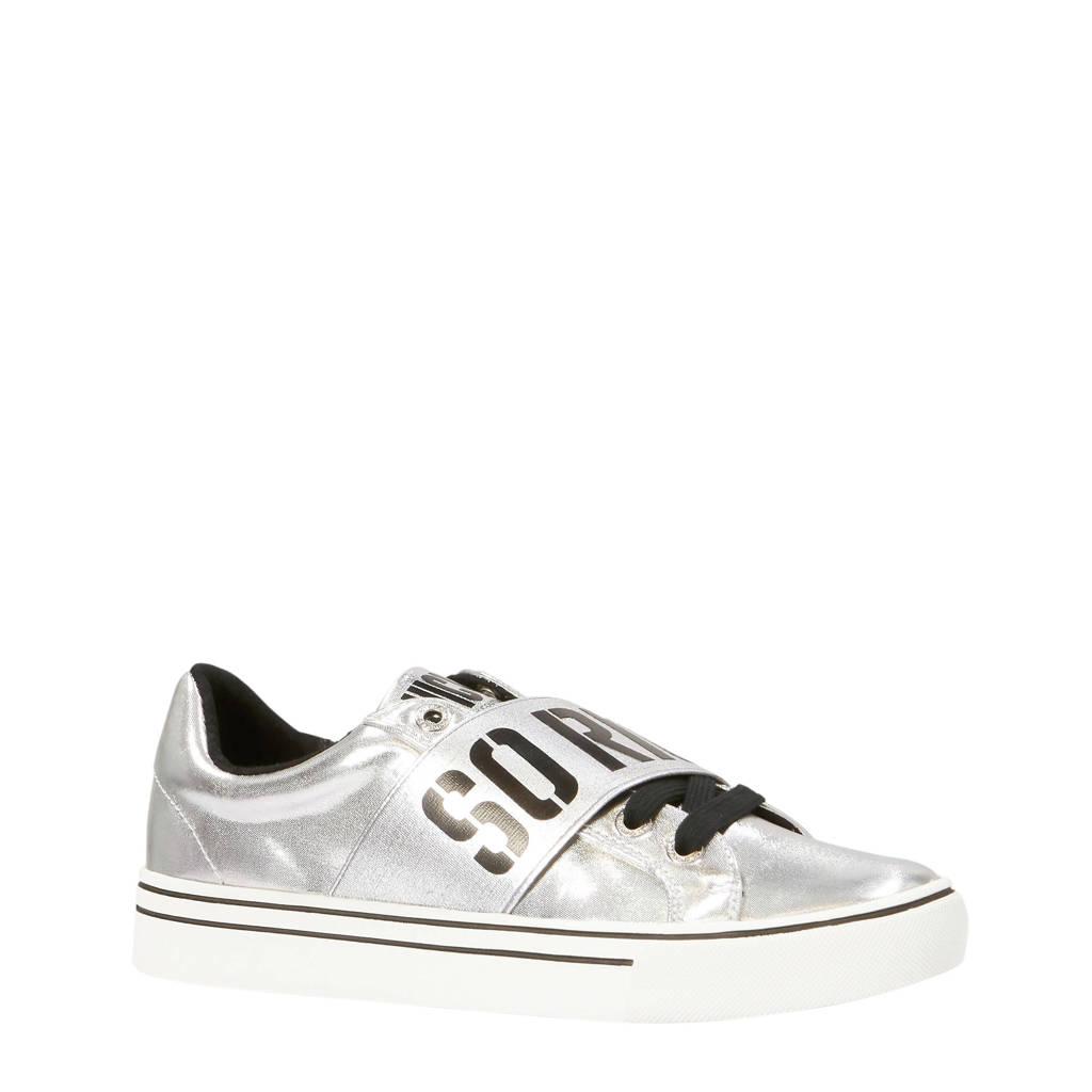 Juicy Couture  Clorinda sneakers zilver, Zilver/zwart