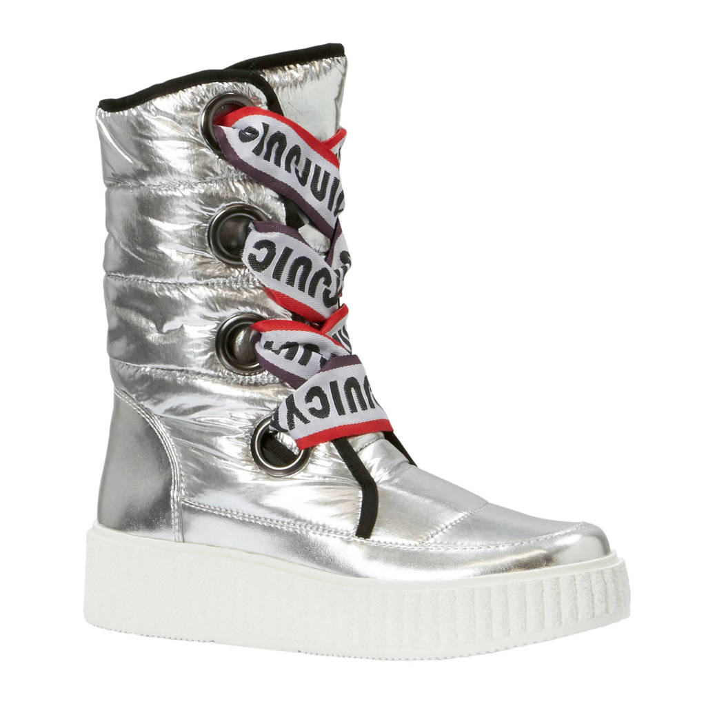 Juicy Couture snowboots Diletta zilver, Zilver