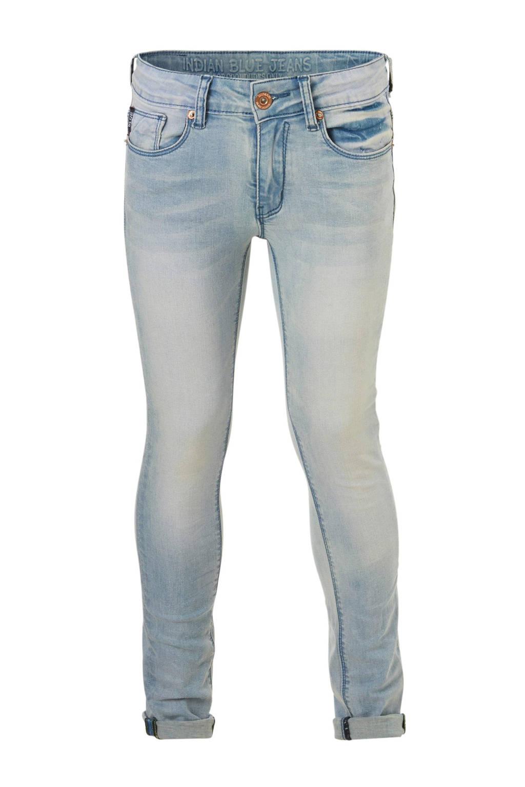 Indian Blue Jeans skinny fit jeans Ryan lichtblauw, Lichtblauw