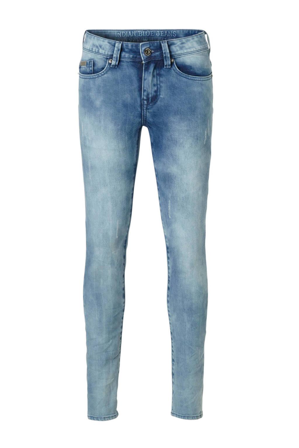 Indian Blue Jeans slim fit jeans Max blauw, Blauw