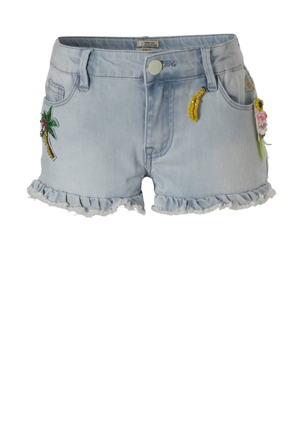 Indian Blue Jeans jeans short, Lichtblauw