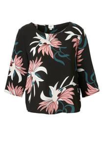 JACQUELINE DE YONG top met bloemen print (dames)