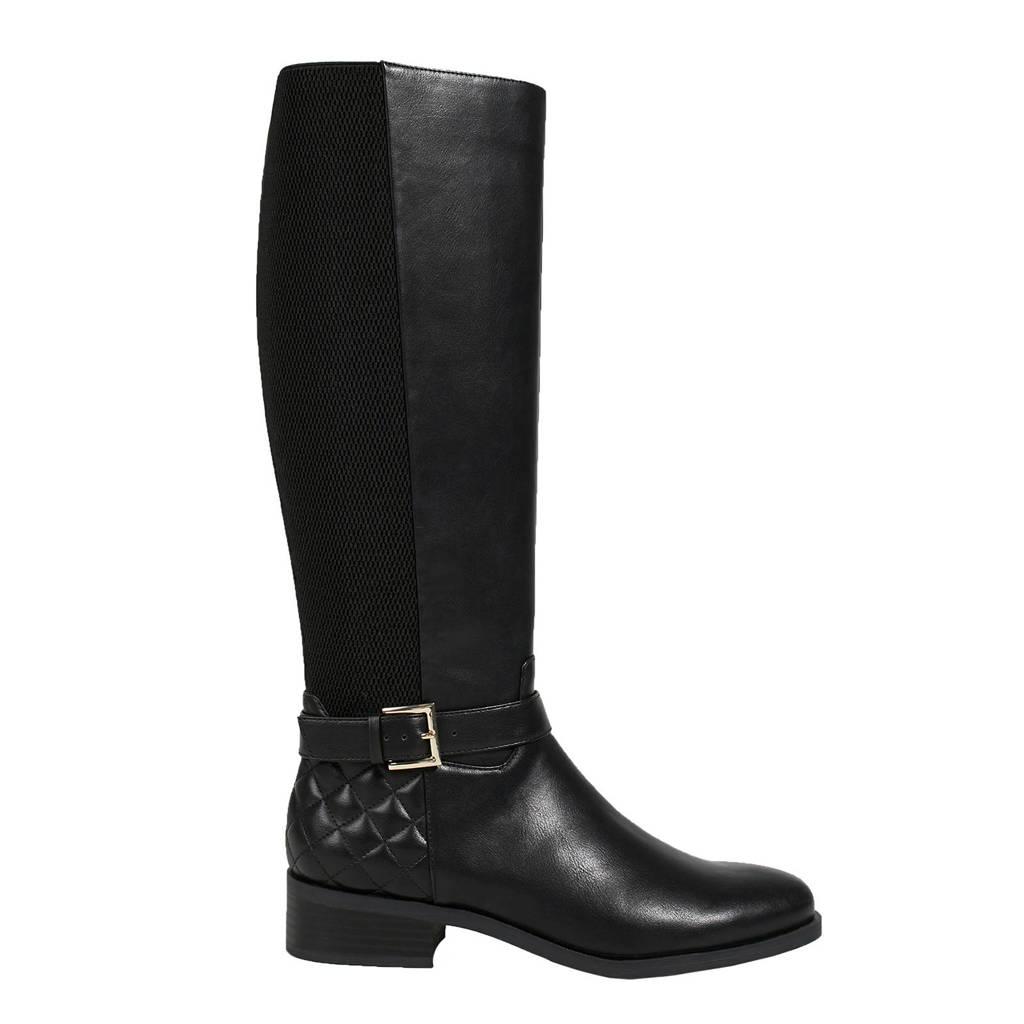 Parfois laarzen zwart, Zwart