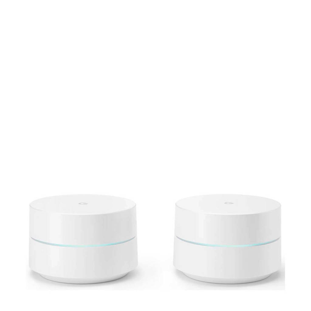 Google  wifi router (2 pack), Wit