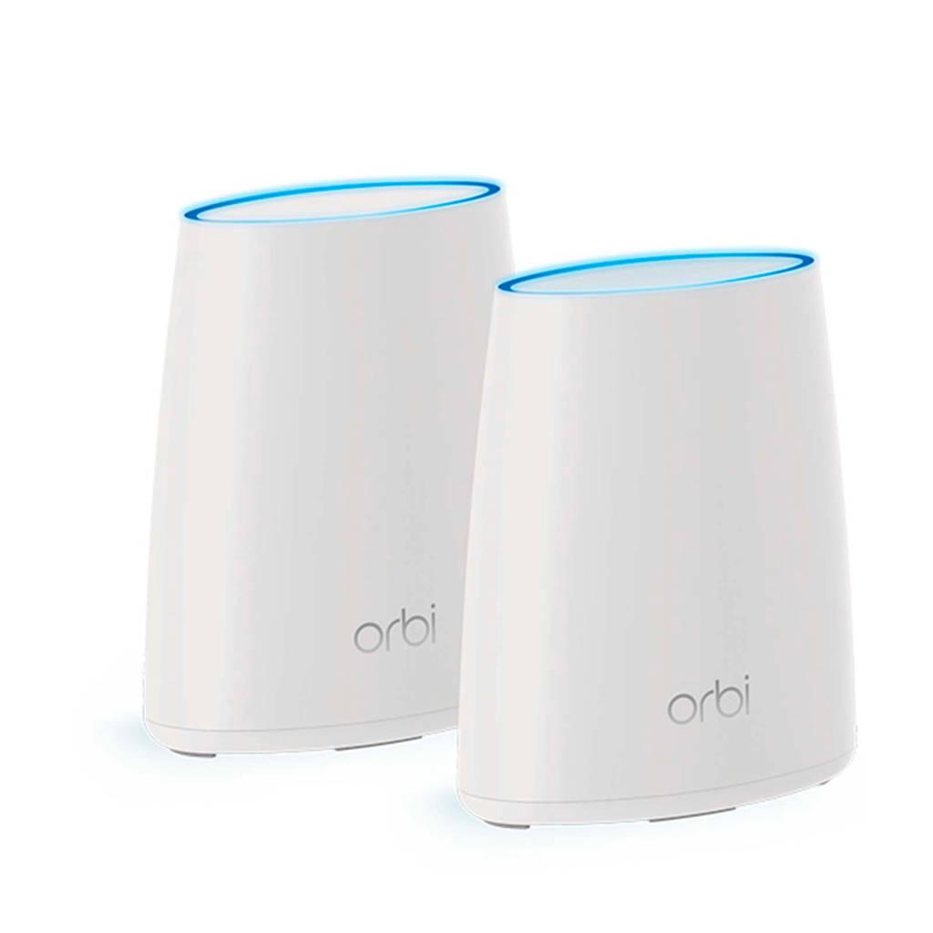Netgear Orbi RBK40 multiroom Wi-Fi systeem, Wit