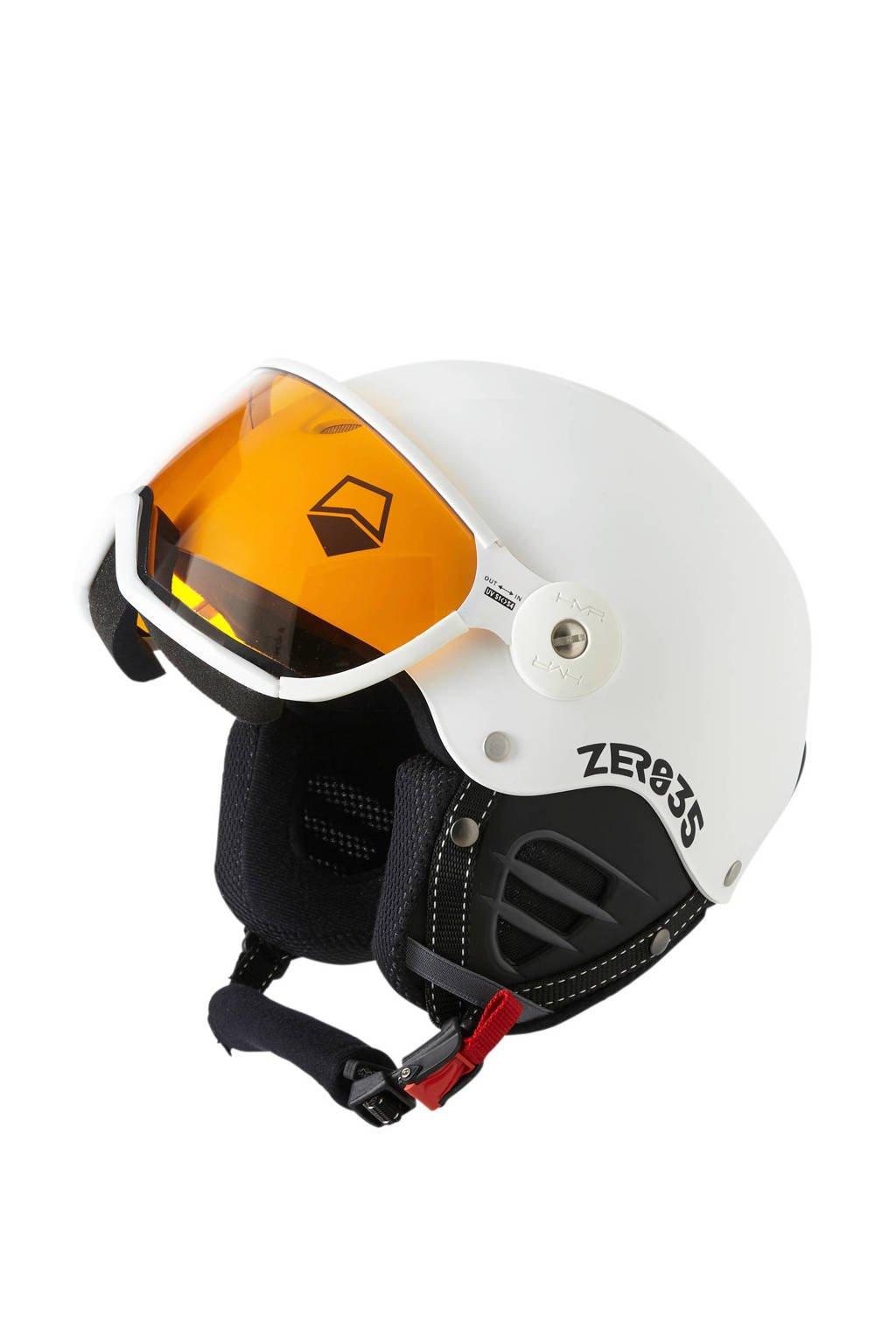 HMR ZER035 Basic skihelm wit, Wit