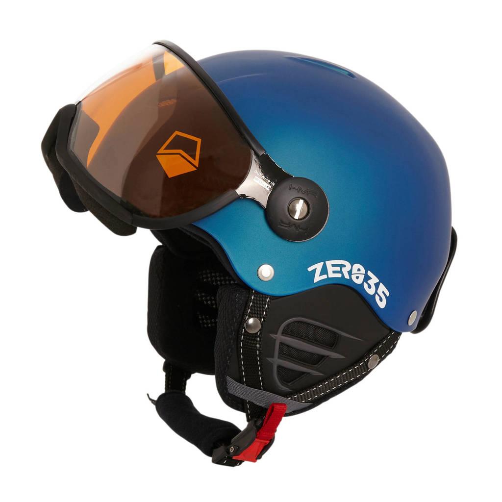 HMR ZER035 Basic skihelm mat blauw, Mat blauw