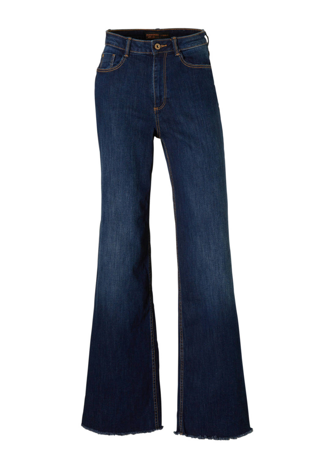 C&A Clockhouse high waist palazzo jeans, Dark denim