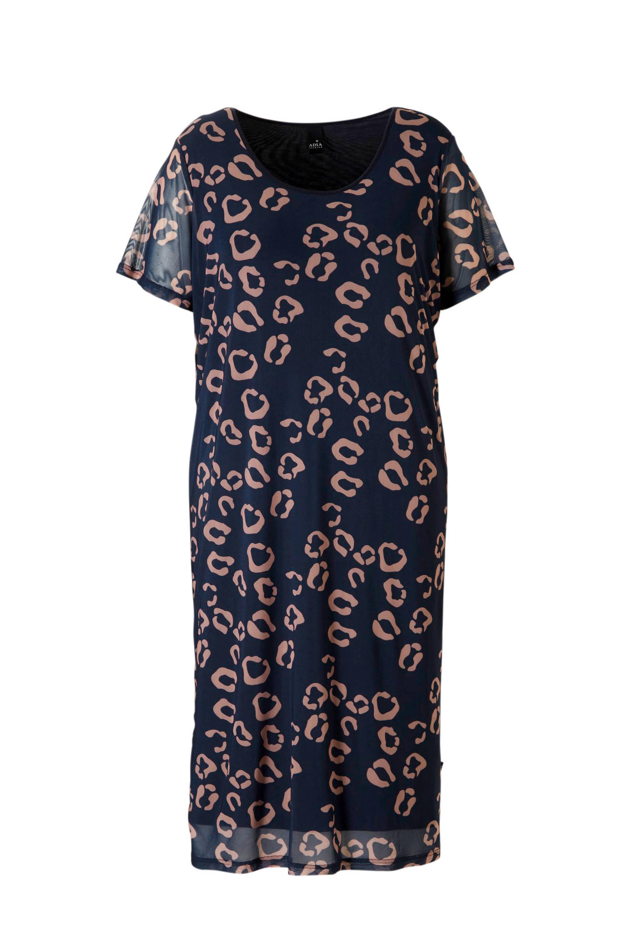 238865cca52c89 Adia jurk met luipaardprint