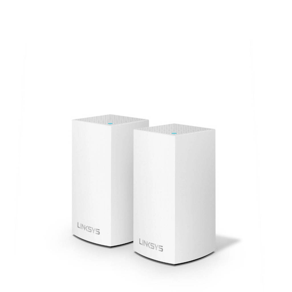 Linksys  Velop WHW0102-EU router 2-pack, Wit