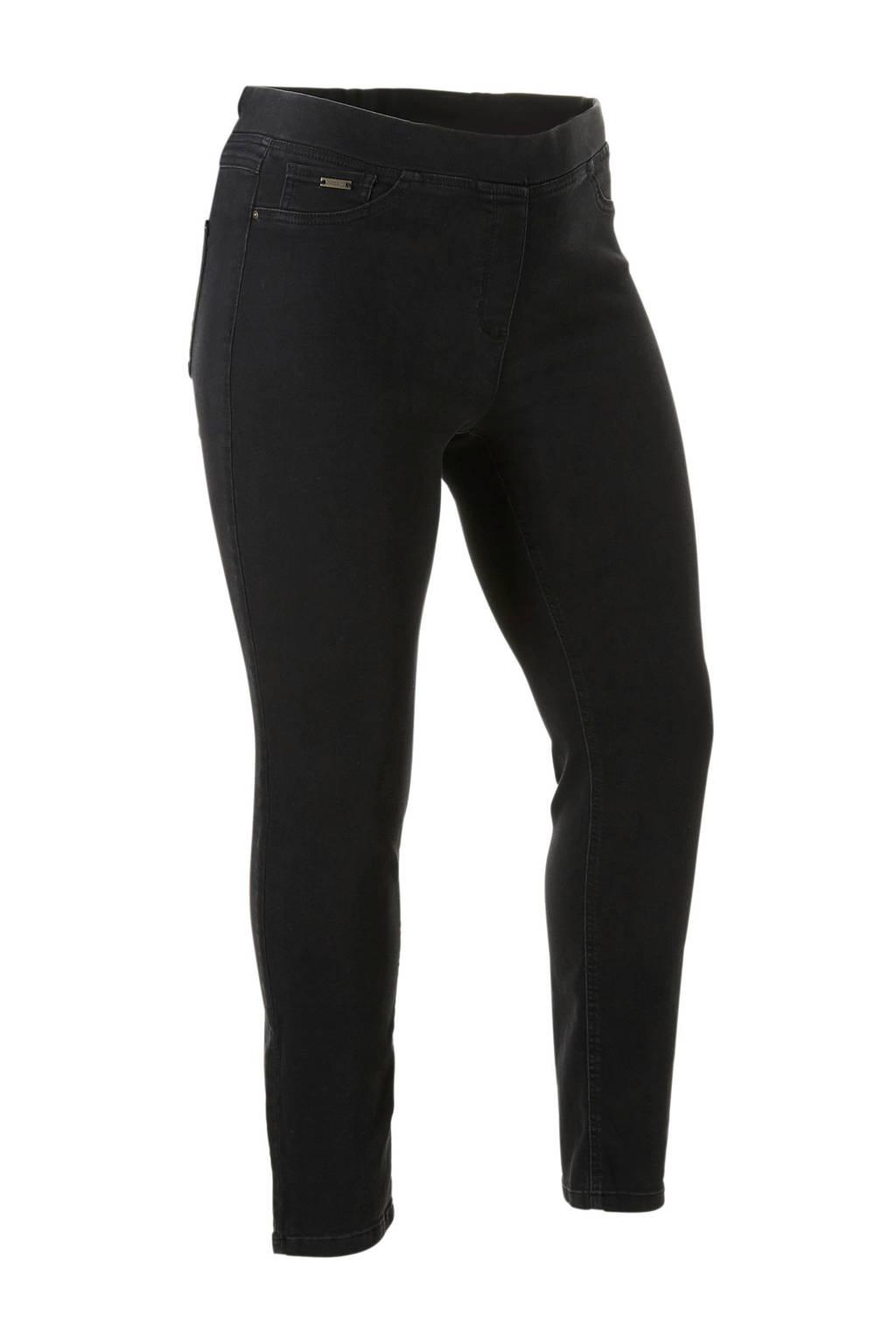 C&A The Denim XL slim fit jegging zwart, Zwart