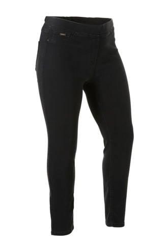 The Denim XL slim fit jegging zwart