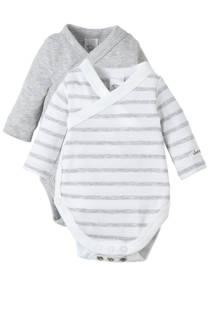 C&A Baby Club newborn overslagromper - set van 2