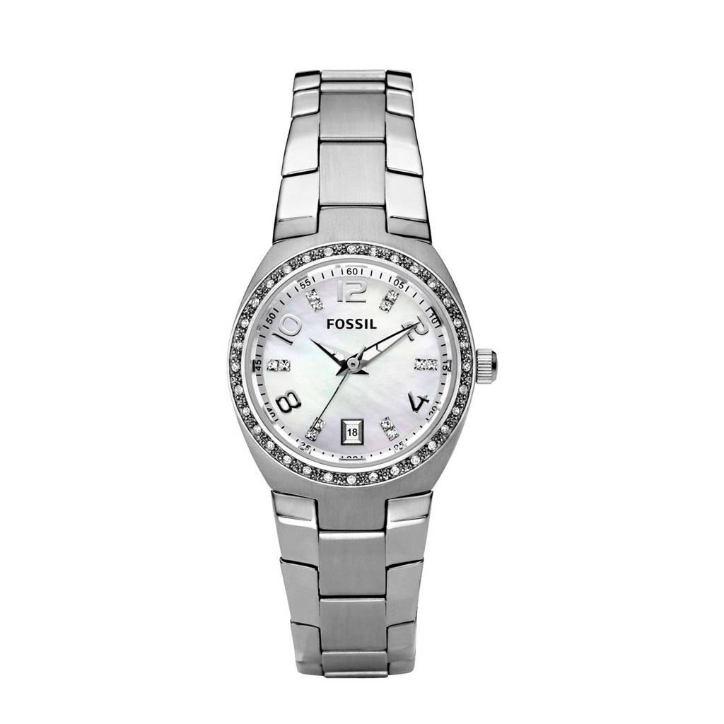 Fossil horloge Serena AM4141, Zilver