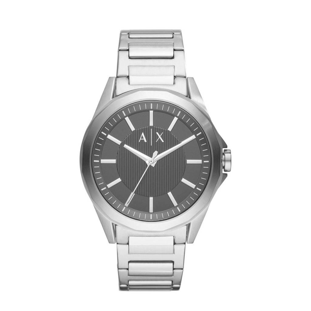 Armani Exchange horloge Exchange Drexler AX2618, Zilver/zwart