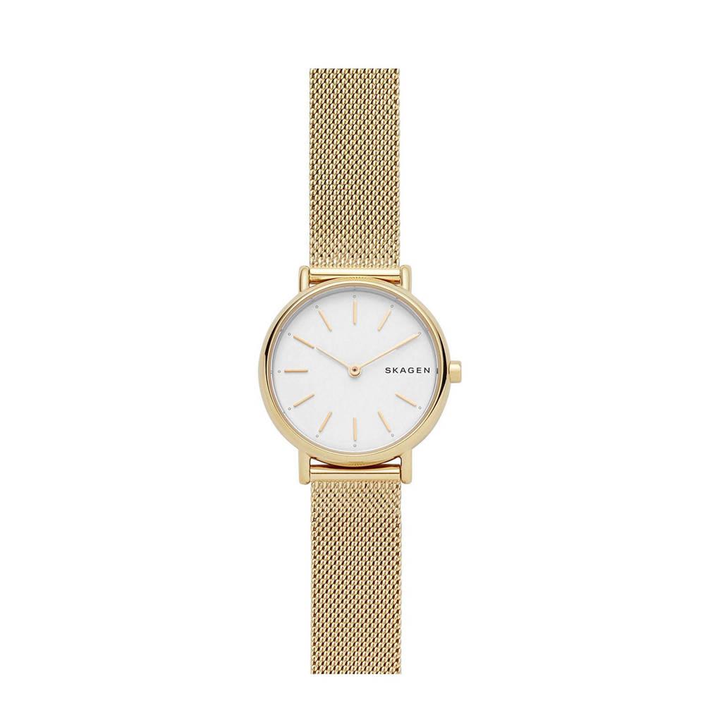 Skagen horloge Signatur SKW2693, Goudkleurig