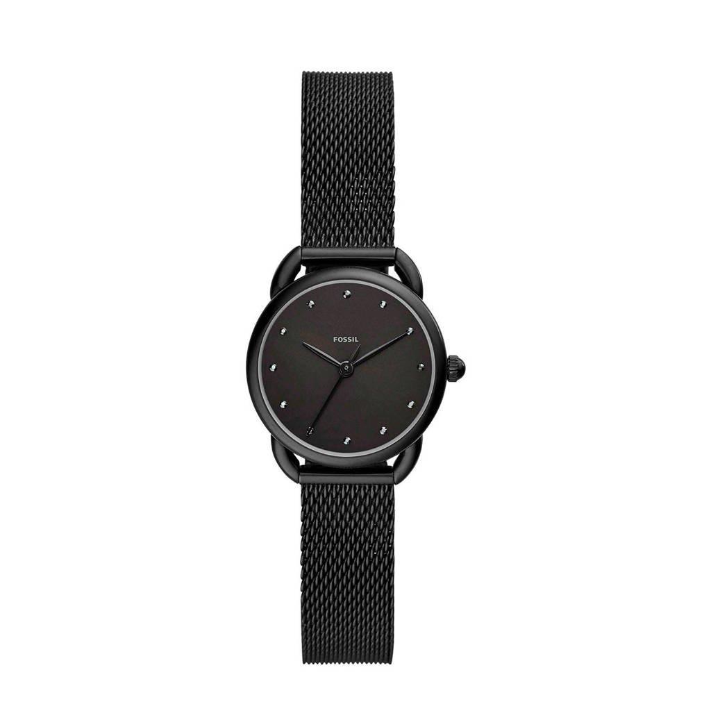 Fossil Tailor Dames Horloge ES4489, Zwart