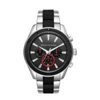 Armani Exchange Enzo Heren Horloge AX1813, RVS/zwart