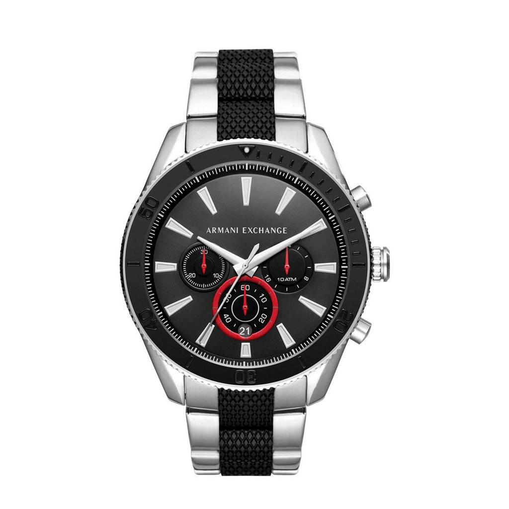 Armani Exchange heren horloge Enzo AX1813, RVS/zwart