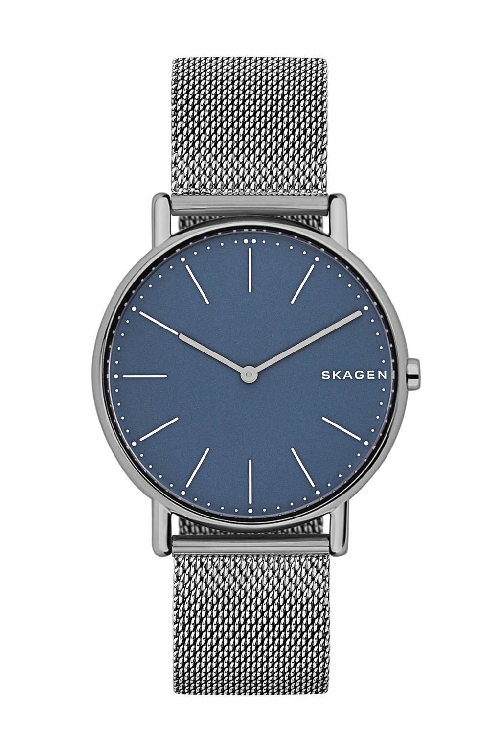 Skagen SKW6420, Zilver/blauw