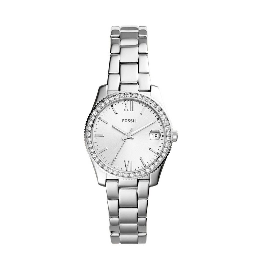 Fossil Scarlette Mini Dames Horloge ES4317, Zilver