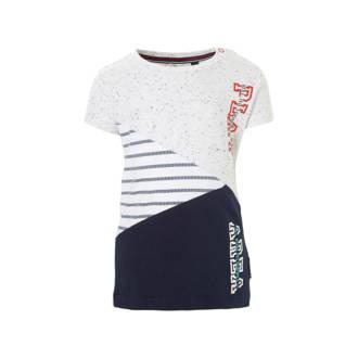 bc1ad1f60c9628 baby T-shirt met print Rick donkerblauw