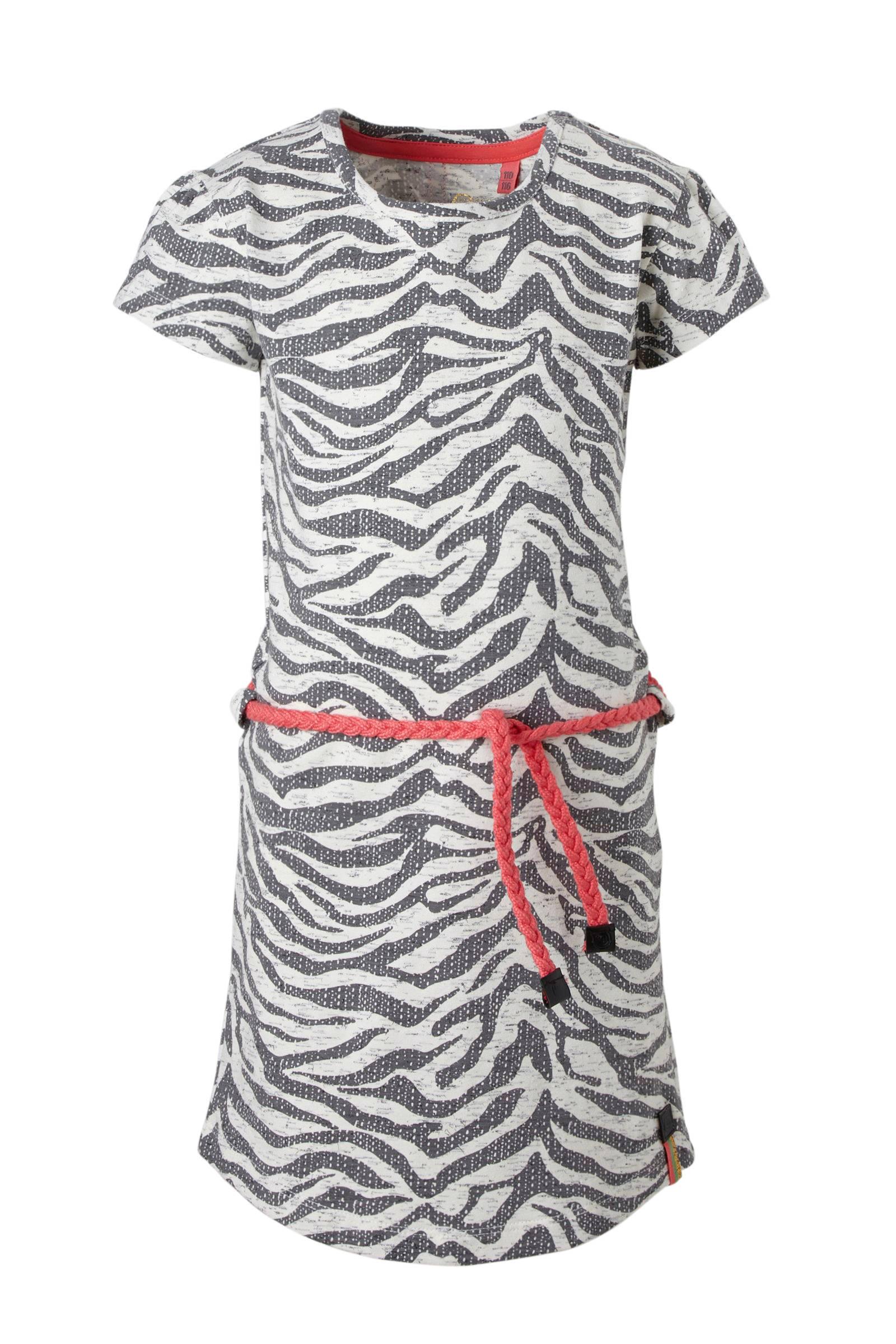 zebra jurk