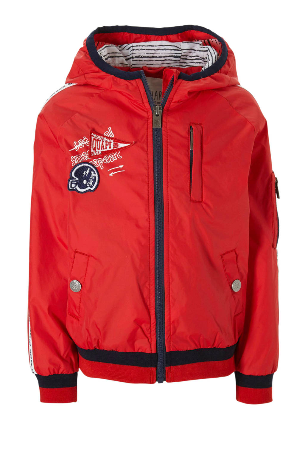 Quapi zomerjas Samo rood, Rood/donkerblauw