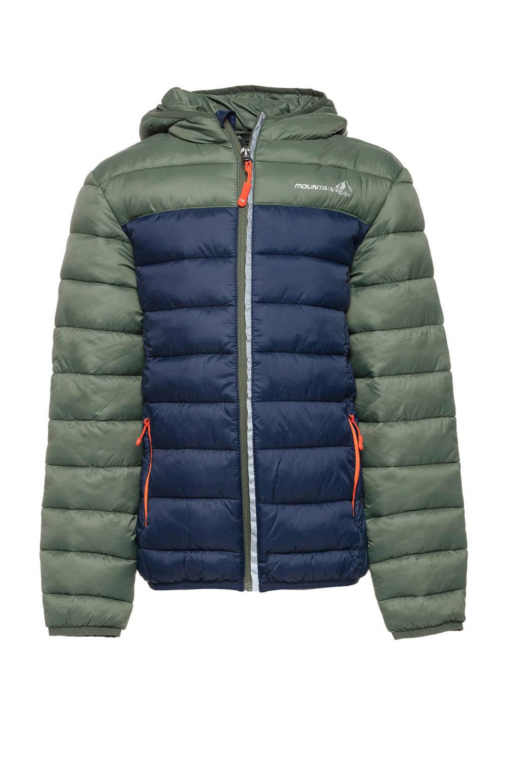Mountain Peak jas groen/blauw, Blauw/groen