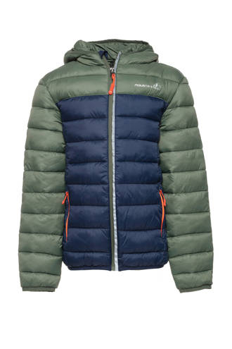 Mountain Peak jas groen/blauw