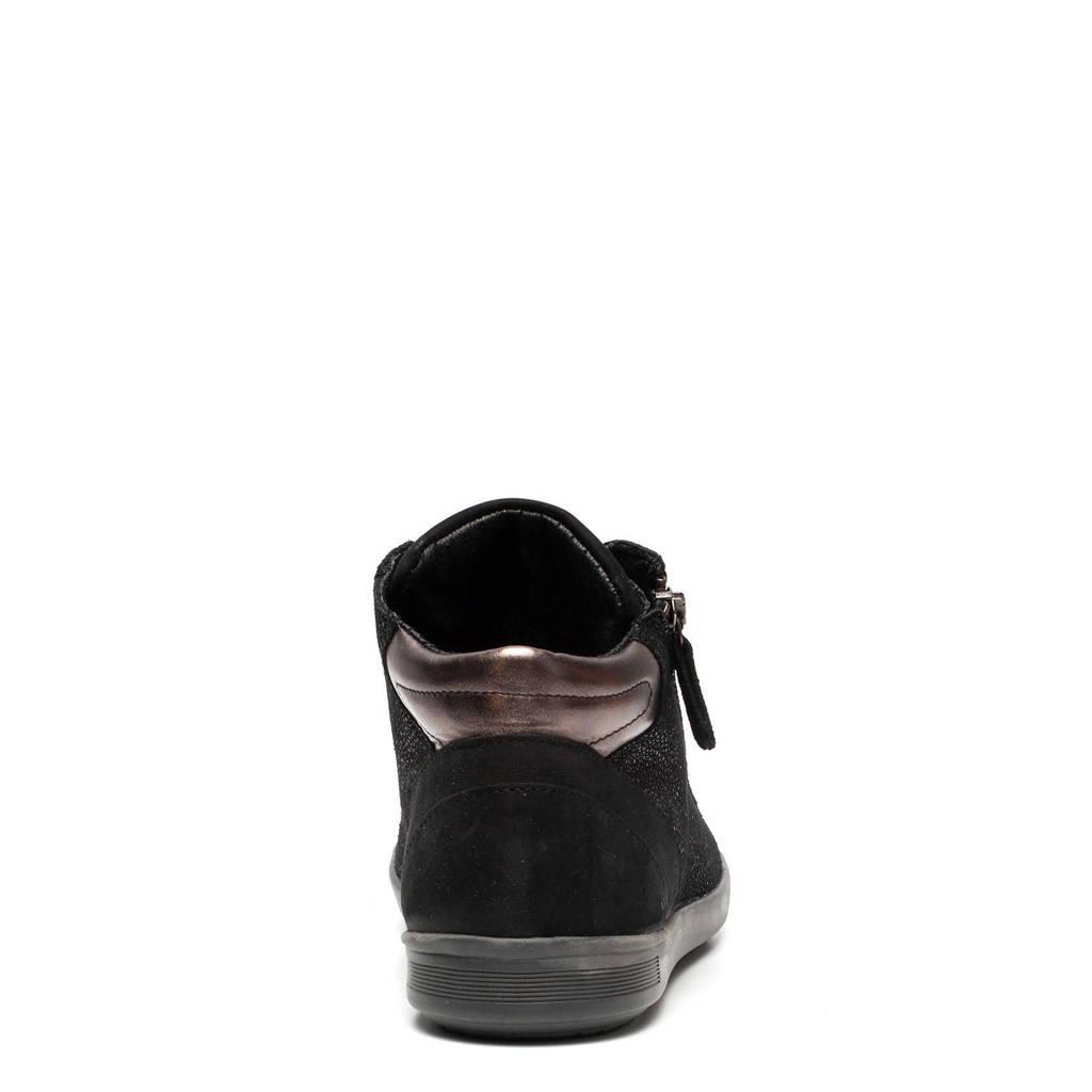 Zwart Scapino Hush Sneakers Puppies Leren wwgBSIxH