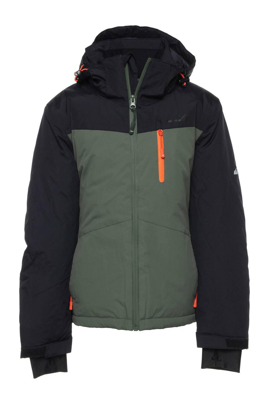 Mountain Peak ski-jack groen/zwart, Groen/zwart
