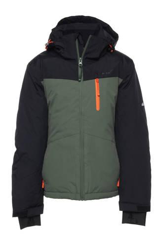 Mountain Peak ski-jack groen/zwart