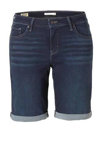 Plus shaping bermuda jeansshort