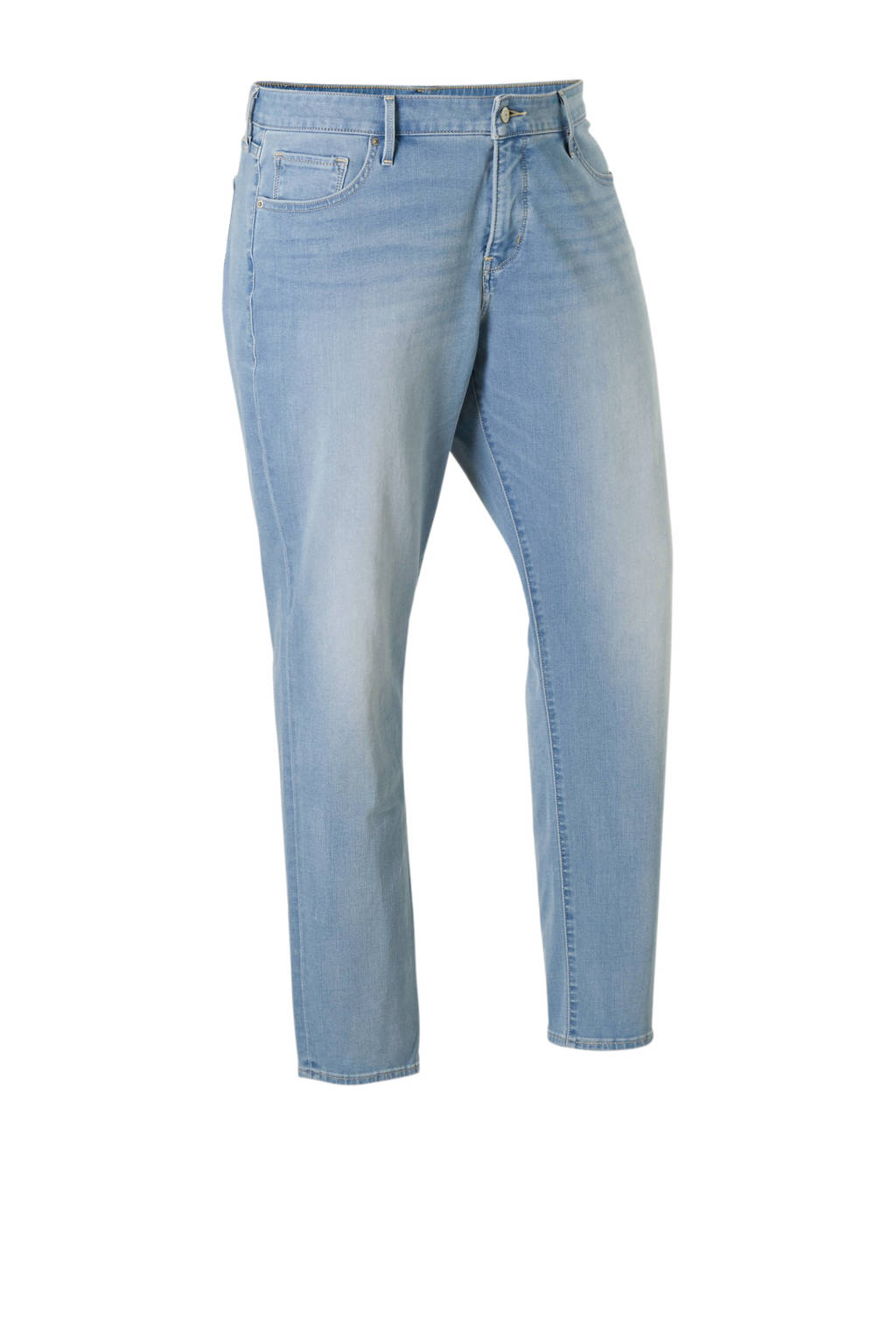 Levi's Plus shaping skinny jeans, licht blauw