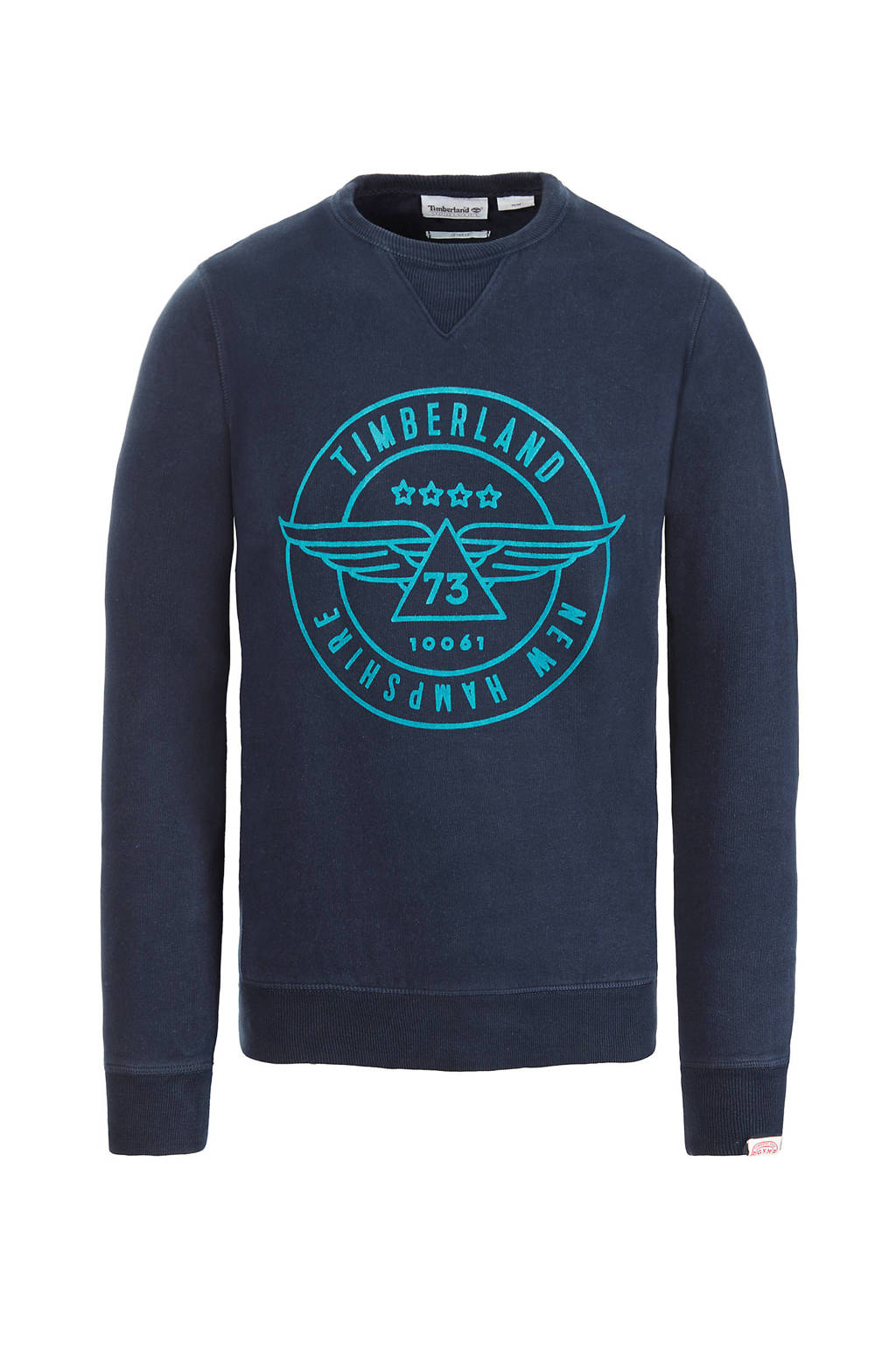 Timberland sweater met print marine, Marine