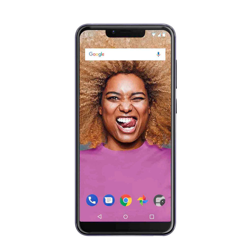 Wiko View 2 Go, Paars