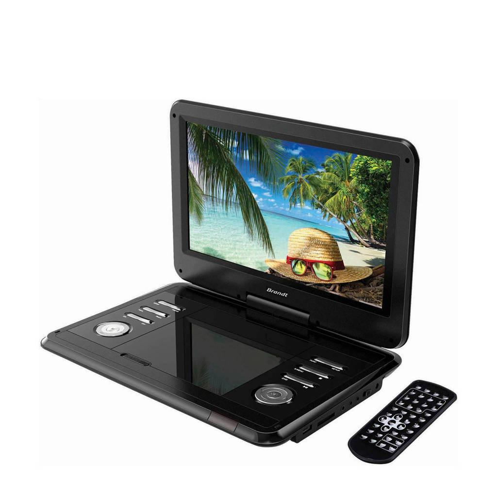 Brandt DVDP12R Brandt portable DVD speler DVDP12R, -