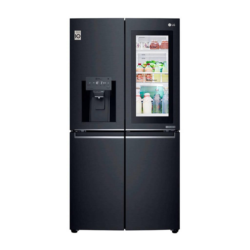 LG GMK9331MT Amerikaanse koelkast, Mat zwart