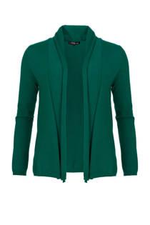 La Ligna vest groen (dames)