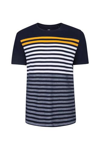 slim fit T-shirt marine