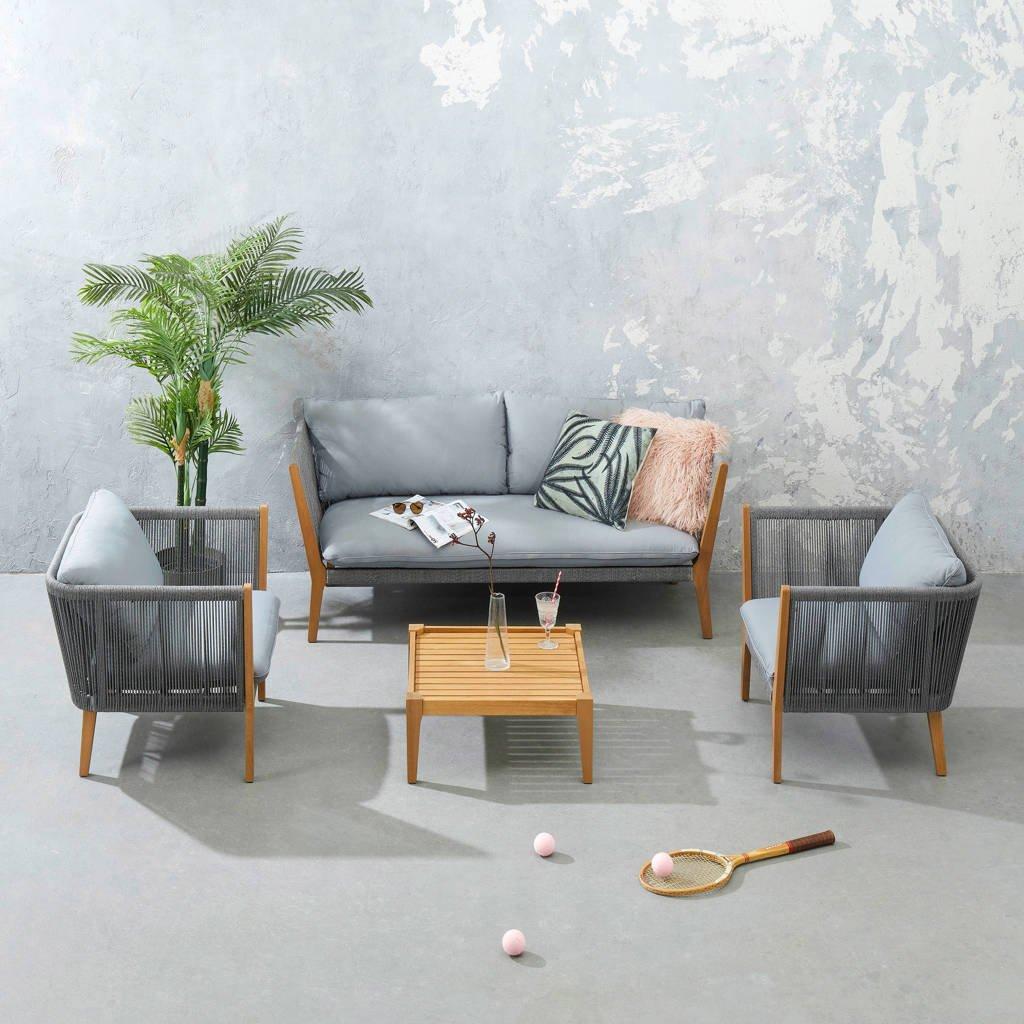 whkmp's own loungeset, Grijs/naturel